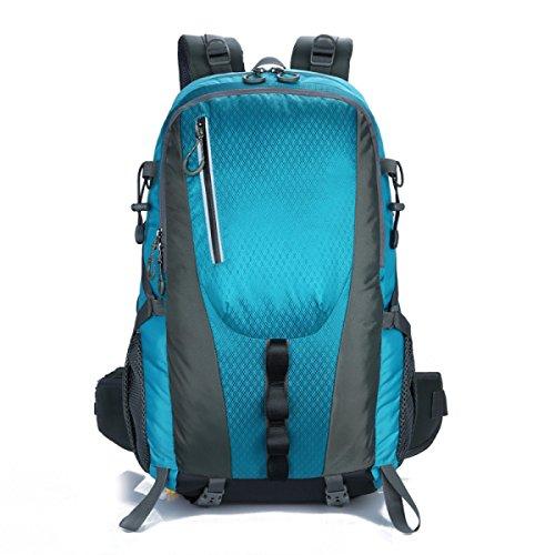 Die Neuen Bergsteigen Männer Und Frauen Taschen Outdoor-Sporttasche LakeBlue