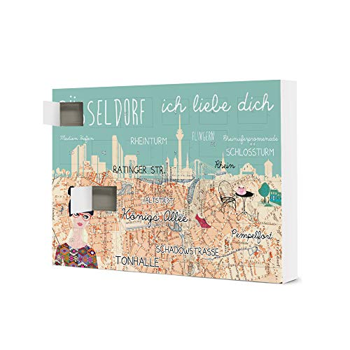 artboxONE Adventskalender zum Selbstbefüllen Düsseldorf - Ich Liebe Adventskalender Städte