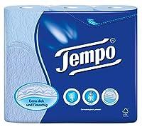 Tempo Toilet Tissue - 3 Ply (9 Rolls, Blue)