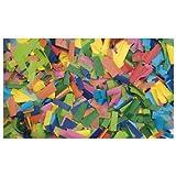Showtec Show coriandoli multicolore (rettangolare), 1kg (non infiammabile) 55X 17mm