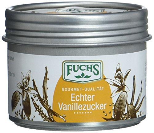 Fuchs Echter Vanillezucker, 3er Pack (3 x 65 g)