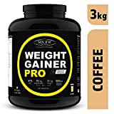 Sinew Nutrition Weight Gainer Pro with Digestive Enzymes - 3 kg (Coffee)
