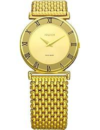 Jowissa J2.108.M - Reloj analógico de cuarzo para mujer con correa de acero inoxidable, color dorado