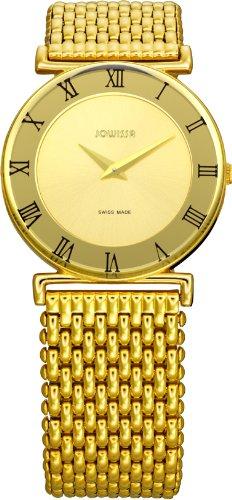 Jowissa - J2.108.M - Montre Femme - Quartz Analogique - Bracelet Acier Inoxydable Doré