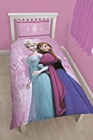 "Character World Single ""Disney Frozen Spring"" Panel Duvet Set, Multi-Colour"