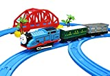 #5: FunBlast Train Set with Tracks for Kids, (Set of 26 Pcs) Comes with Bridge and Tunnel (Multicolor)