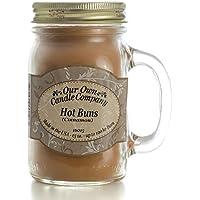 Unserer eigenen Kerze 368,5Hot Buns Duftkerze Jar, 100HR Brenndauer (Zimt) preisvergleich bei billige-tabletten.eu