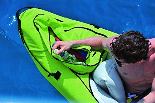 2 Personen PATHFINDER Kajak, Kanu, Schlauchboot, Maße: 330 x 81 x 58 cm, Jilong, JL007234N, aufblasbares Boot, Kapazität: bis 182 kg , inklusive 1 Paddel und Pumpe, 2 Sitze, Heavy Duty 100% PVC, Izzy Sport -