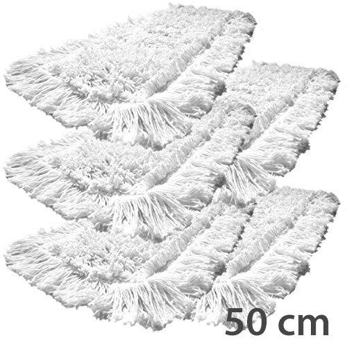 5er Pack Einweg Baumwolle 50 cm Bodenwischer gizmop