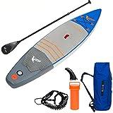 Die besten Paddle Boards für Anfänger - Aufblasbare Stand Up Paddle Board (6Cm Dick) Alu Bewertungen