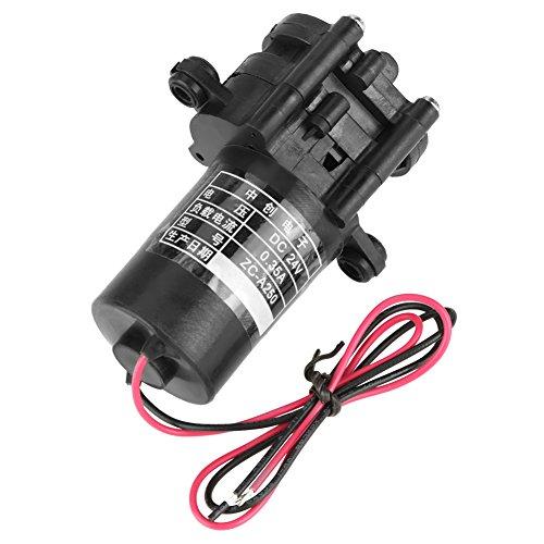 ZC-A250 DC24V korrosionsbeständige Druckerhöhungspumpe Mini selbstansaugende korrosionsbeständige Kunststoff Zahnrad Wasserpumpe