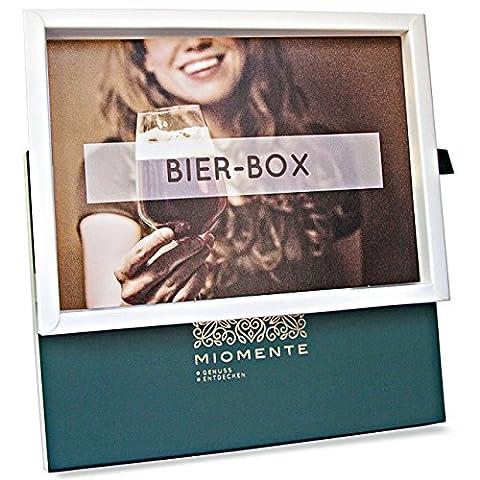 Miomente BIER-Box: Bier-Tasting-Gutschein - Geschenk-Idee Erlebnisgutschein (Craft Geschenkboxen)