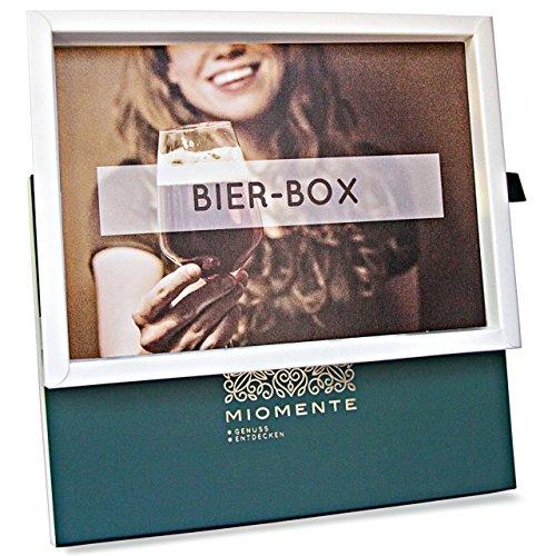 Miomente BIER-Box: Bier-Tasting-Gutschein - Geschenk-Idee Erlebnisgutschein -