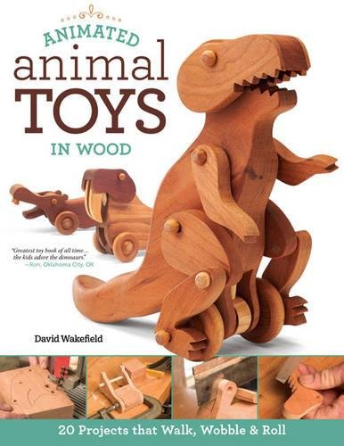 Animated Animal Toys in Wood por David Wakefield
