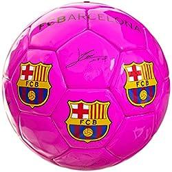 Balón Firmas Rosa Fluor FCBarcelona