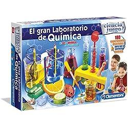 Ciencia y Juego - El Gran Laboratorio de química (Clementoni 550630)