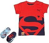 Puma Crib pack Suede Superman 2, Unisex Baby Krabbelschuhe, Blau (peacoat-princess blue 01), 17 EU (1 Baby UK)
