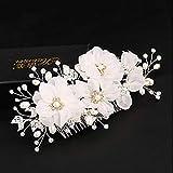 Regalo/tulle/imitazione perla/seta/fiori/fermaglio per capelli con 1 copricapo per matrimoni, occasioni speciali/compleanno.