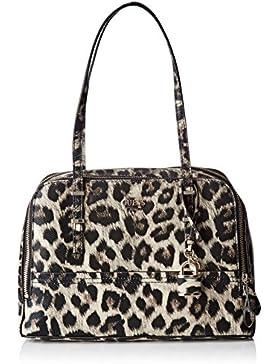 Guess Damen Hwlp6421090 Shopper, Mehrfarbig (Leopard), 13x22.5x36 cm