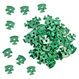 100 pcs Serre ombrage de plastique Clips, Twist Clips de fixation pour serre en aluminium Isolation Bubble ombrage de filet