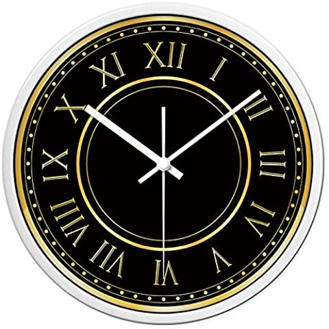 CLG-FLY Continental orologio arte mute soggiorno grafici per parete cerchio orologio orologio#24