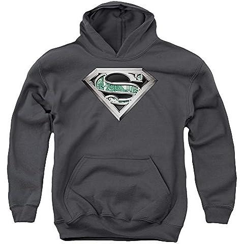 Superman - - Logotipo de la circuitería para jóvenes Sudadera con capucha