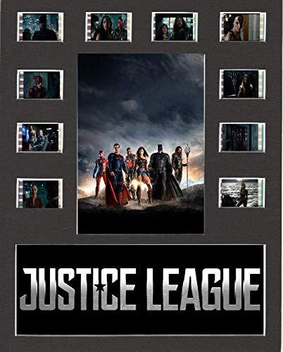 Desconocido Biombo de película de la Liga de la Justicia 10 x 8 montado en 10 Celdas, Sin Marco 2, 25,40 x 20,32 cm