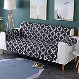 Zwei Sitzer - Wasserdicht Gesteppte Sofabezüge - Sessel Möbelschutz Für Hunde Haustiere Kinder Sofabezug,C