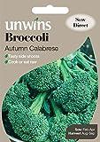 Unwins Pictorial paquete–Brócoli Otoño Calabrese–250Semillas