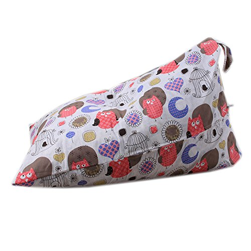 (Hohe Qualität weichen mehrfarbigen Kinder Plüsch Tier Plüsch Spielzeug Speicher Sitzsack weiche Tasche gestreiften Stoff Stuhl)