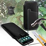 i-Tronixs (Black 145x 71 mm) Pouch case for BQ Aquaris X5