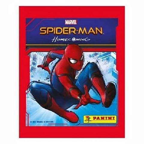 5x Panini Spiderman Homecoming Sticker Pack (5 sealed packs)