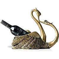 DZXYA Continental resina antichi Swan Rack di vino