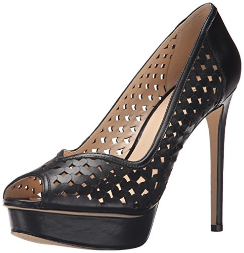 Nine West Estate Cuir Talons Black