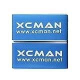 xcman Alpine nailon correa de Velcro de esquí para esquís alpinos con base pantalla transporte y almacenamiento fácil