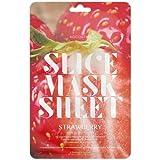 Koco Star Slice Mask Sheet Strawberry Nutriente Cura della pelle maschera per particolarmente delicata pelle