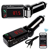 #10: Dmg 3 In1 Dual Usb Wireless In-Car Fm Transmitter For Car, Bluetooth Hands Free Kit And Usb Car Charger, Mp3 Player For Iphone, Andriod & Tablet Pc