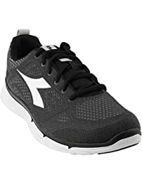 Diadora Shoes Running Sneaker Jogging Men NJ-303 Trama Black/superwhite 42 Nero Size 8. 5