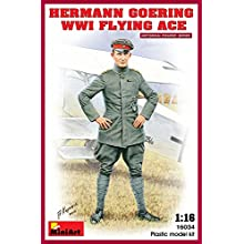 MiniArt 1:16 Scale Hermann Goering WW1 Flying Ace Plastic Model Kit