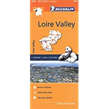Loire Valley Michelin Regional Map (Michelin Regional Maps) 517 (Michelin Regional Maps France) (Michelin Regional France)