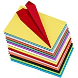 Pindia Color Sheet Set, A4 Size - Pack of 100 Sheets (Multicolor)
