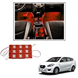 #4: Vheelocityin 9 LED Custom Cuttable Bike/ Car Red Light for Interior/ Exterior For Datsun Go
