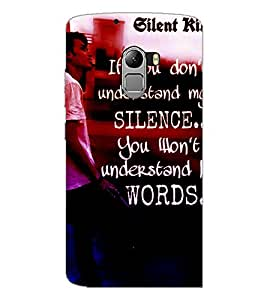 PrintDhaba Quote D-2871 Back Case Cover for LENOVO K4 NOTE A7010 (Multi-Coloured)