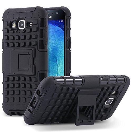 Samsung Z2 Back Cover Kickstand Case For Samsung Z2 Back Cover (Black) By Vinnx