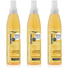 byphasse Keratina líquido Activ Protect para cabello secas––Juego de 3