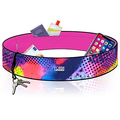 Formbelt® Laufgürtel für Handy Smartphone iPhone 8 X XS XR 6-s 7+ Plus Samsung Galaxy S10 Edge Huawei Mate Pro Hüfttasche für Sport Fi...