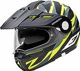 SCHUBERTH E1 Rival Amarillo Adventure Modulares Casco De Motocicleta Tamano L