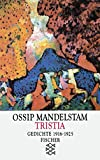 Tristia: Gedichte 1916-1925