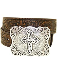 5ea792ca86f9 Nocona USA - Ceinture style western cowgirl cowboy - femme homme - boucle