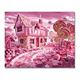 Best Sweet Home Collection Bed Frames - PCLES Candy House Sweet Wonderland Painting By Numbers Review